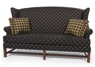 1380 - High Back Sofa - 76 w x 34 d x 44 h