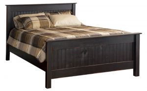 22 - Queen Beadboard Bed - Headboard 49 h - Footboard 29 h Also available Twin, Full & King