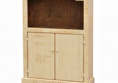 40D - Bookcase with Doors - 36 w x 13 d x 48 h