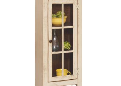80 - Display Cabinet - 20 w x 13 d x 46 h