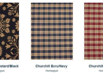 Fabrics Gallery Homespun Brookshire and Churchill