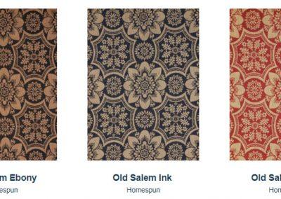 Fabrics Gallery Homespun Old Salem
