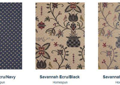 Fabrics Gallery Homespun Pedigree and Savannah