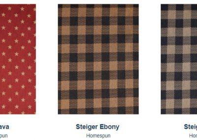 Fabrics Gallery Homespun Star and Steiger