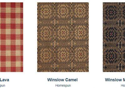 Fabrics Gallery Homespun Steiger and Winslow