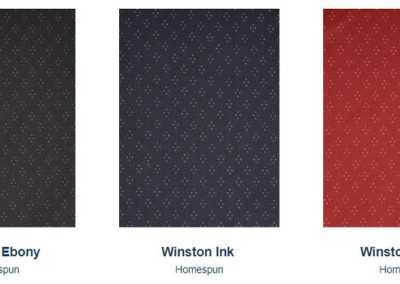 Fabrics Gallery Homespun Winston